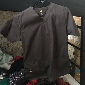 Other - Brown hospital scrubs w/ pants included